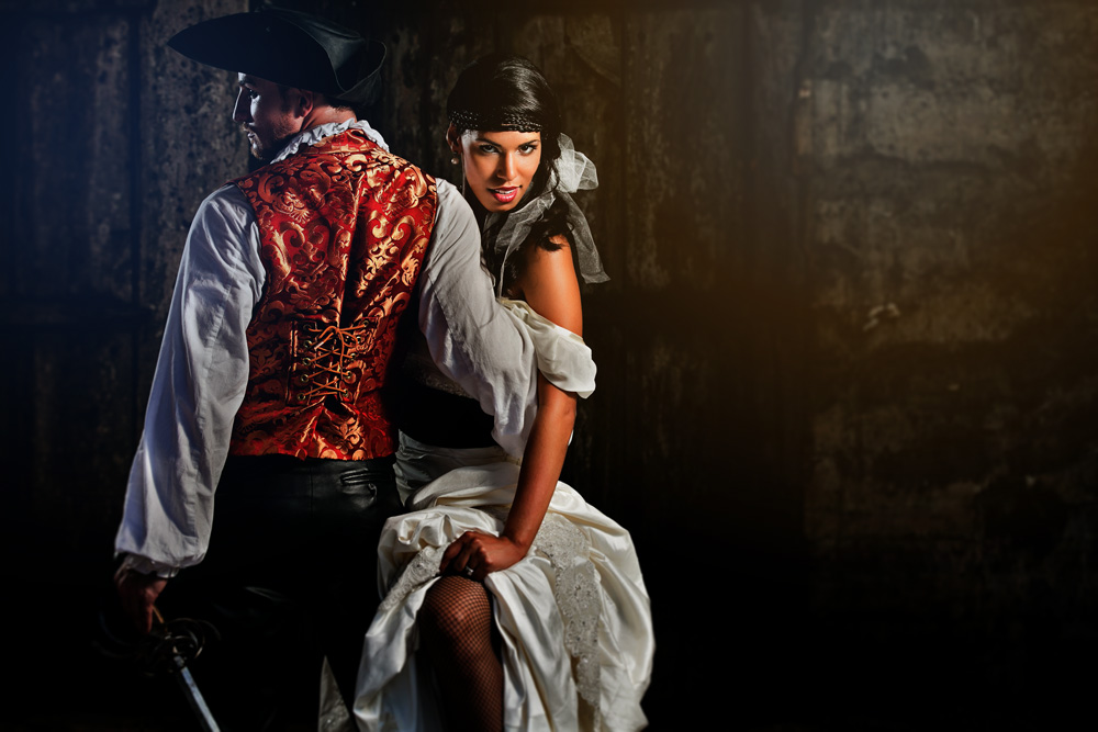 Pirate Inspired Wedding Shoot in St. Augustine- Michele Butler Events - Hughes Fioretti Photography - Imprint Cinema